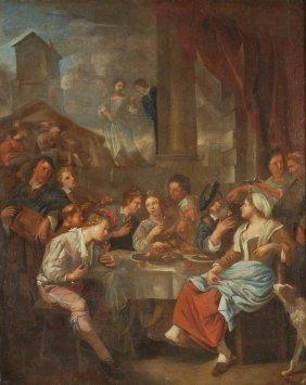24: Attributed to Jacob Toorenvliet (1640-1719) Figure