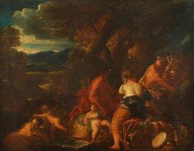 72: Venetian School (18th century) Classical figures b