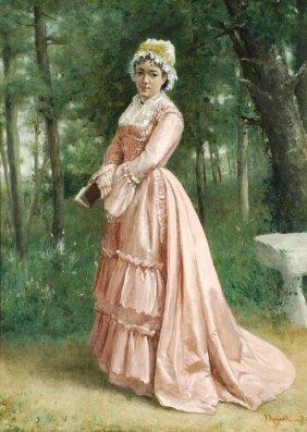 179: Jean Francois Raffaelli (1850-1924) Lecture au For