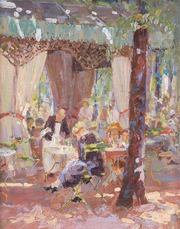 2: Sarah Thompson Townsend (1910-1930) A Parisian caf