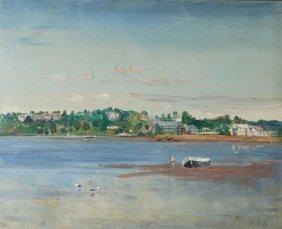 Rodney Joseph Burn (1899-1984) Bembridge Harbour