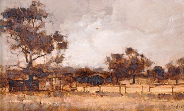 4: James Taylor (20th century) Kentish landscape