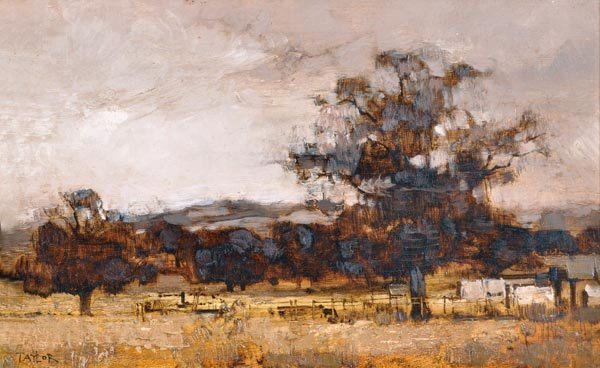 5: James Taylor (20th century) Kentish landscape