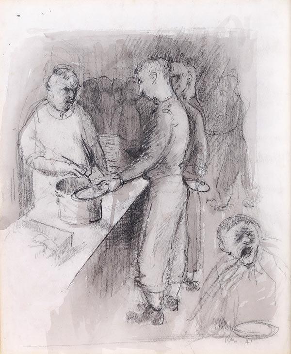 7: Rodrigo Moynihan (1910-1991) The End of the Picnic