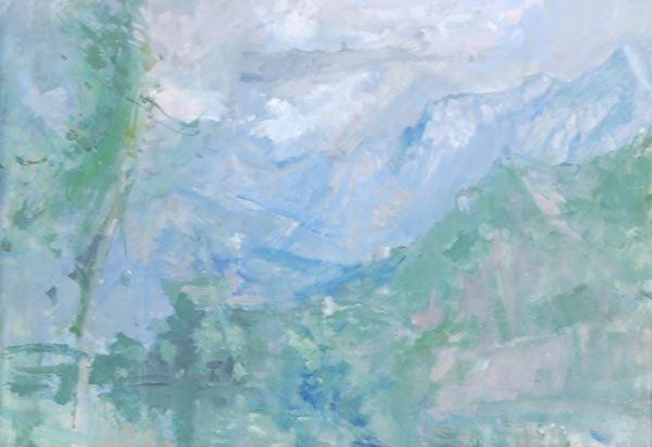 8: Peter Greenham (1909-1992) Annecy, 1990