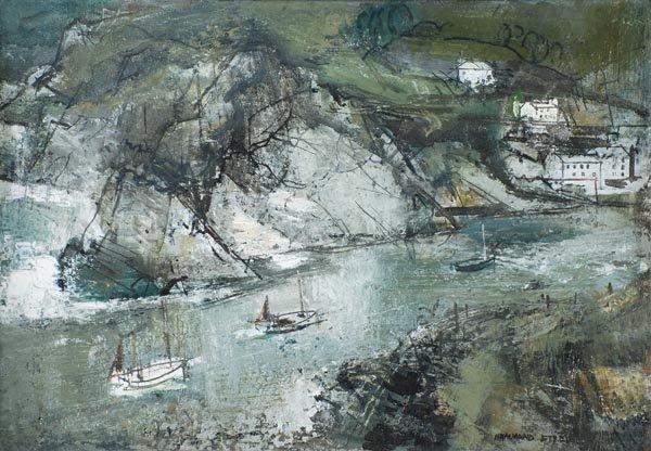 15: George Hammond Steel (1900-1960) Fishing boats ret