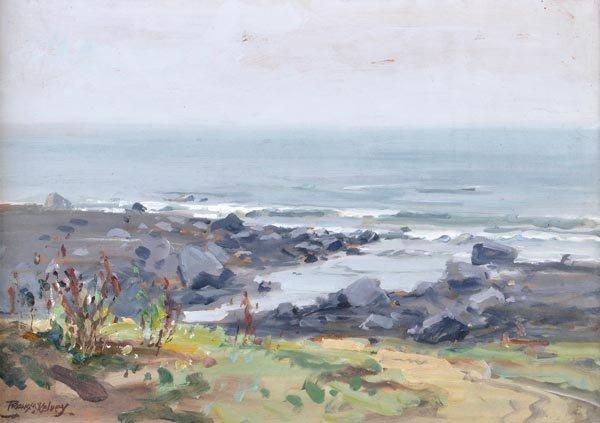 16: Frank McKelvey, R.H.A. (1895-1974) Coastal view