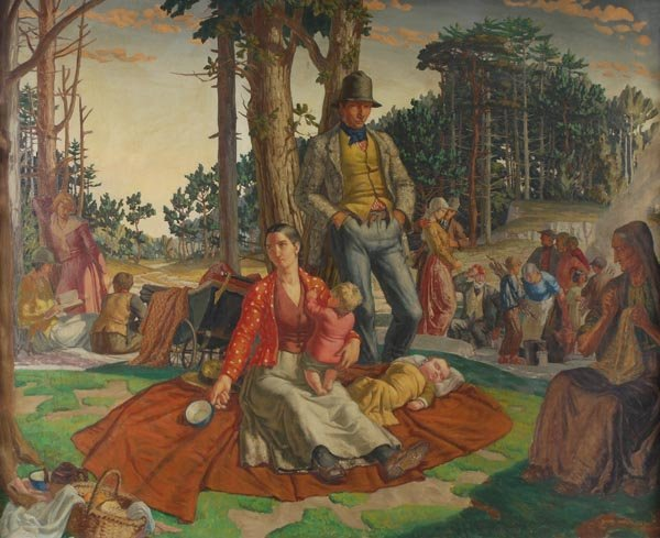 18: Harry Morley (1881-1943) The picnic