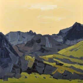 19: Sir Kyffin Williams R.A. (1918-2006) Sun above Nan