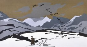 20: Sir Kyffin Williams R.A. (1918-2006) Pontyfas in t