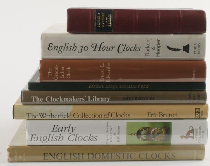 Horological Bibliography and English clocks -eight