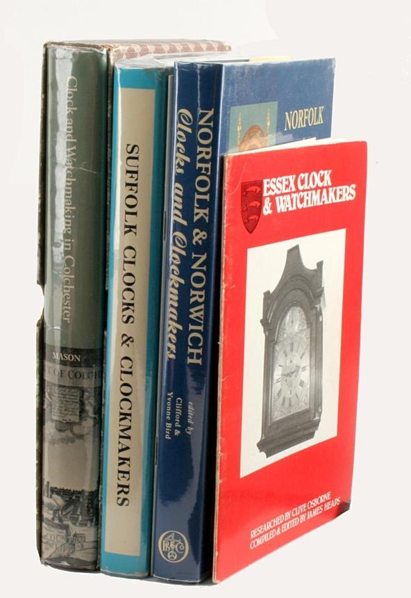 Regional clockmaking- four publications relating t