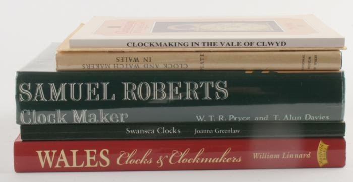Regional clockmaking- six publications relating to