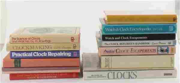 Clockmaking -fifteen volumes: Wilding, John How t