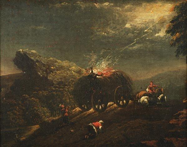 Charles Henry Schwanfelder (1774-1837), Lightning