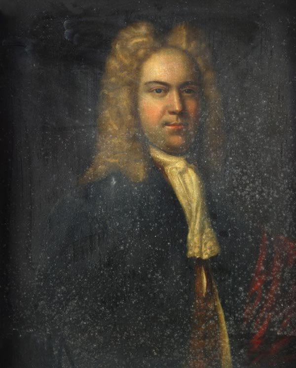 English School (late 18th century), Portrait of a