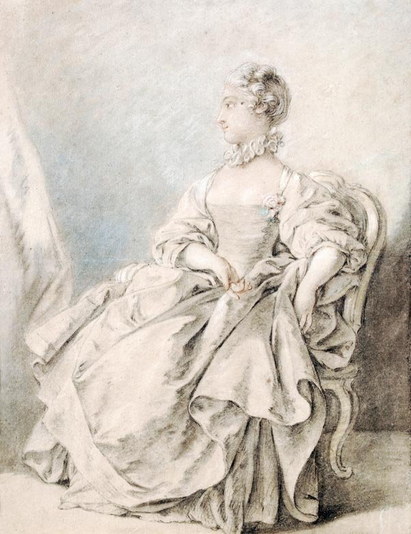 Attributed to Francois Boucher (1703-1770), A youn