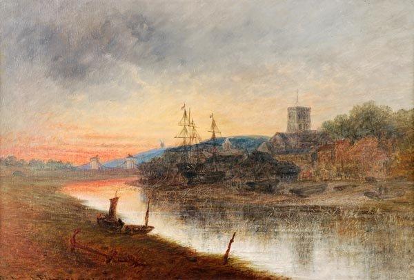 Richard Elmore (fl.1852-1893), Shoreham Harbour, T