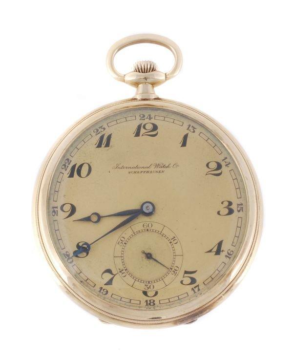 International Watch Co., Schaffhausen, a 14 carat
