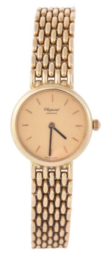 Chopard, a lady's 18 carat gold wristwatch, circa