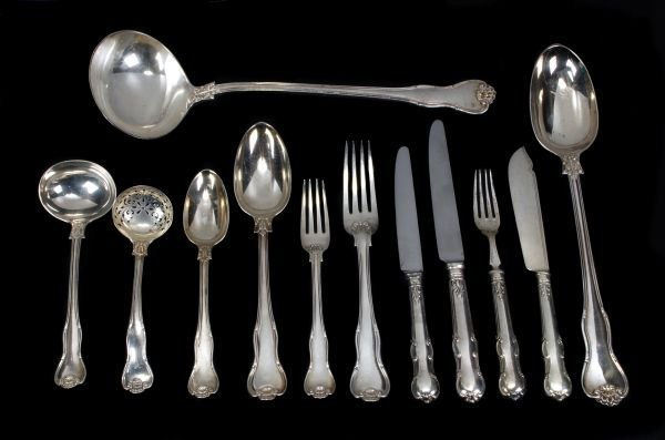 A late Victorian silver King's Husk (without husk)