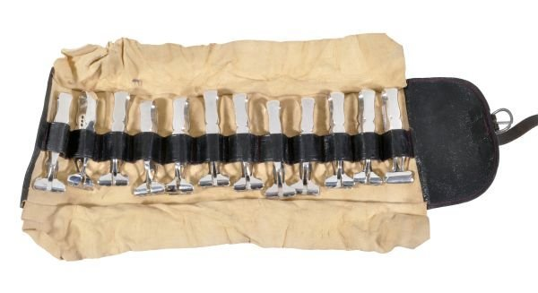A set of twelve late Victorian silver individual a