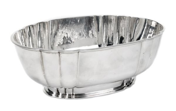 An Art Deco silver bowl, mark of Central School of
