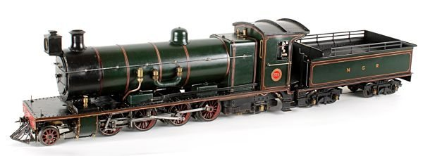 A well engineered 2 1/2 inch gauge model of Natal