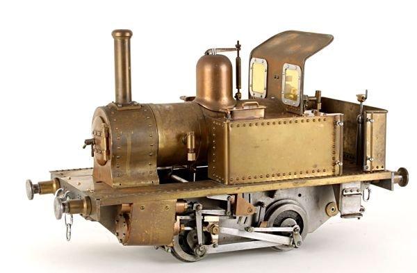 A well engineered 3 1/2 inch gauge part-built mode