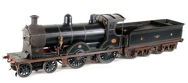 A well engineered 3 1/2 inch gauge model of Caledo