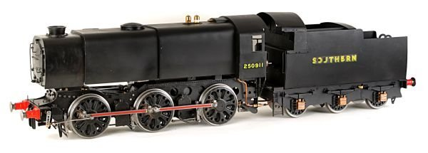 A well engineered 3 ½inch gauge model of Southern
