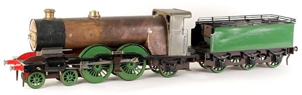 A part-built model of a 3 1/2 inch gauge Great Nor