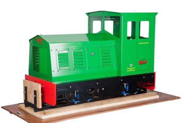 A 5 inch gauge Phoenix Locomotives model Ruston di