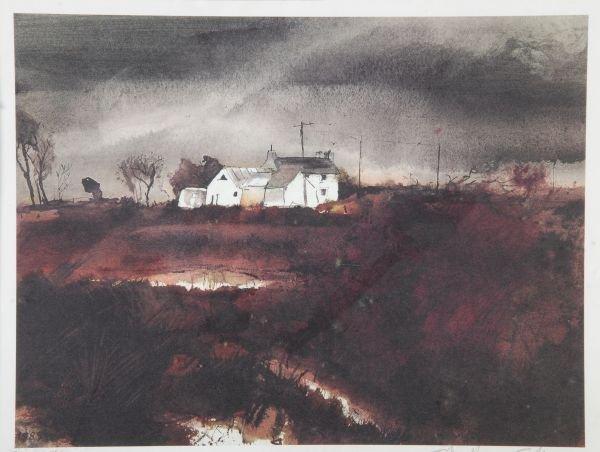 John Knapp Fisher (b. 1931)Chapel goers, Croesgoch