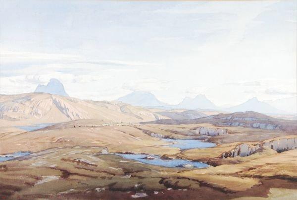 Alfred Heaton Cooper (1864-1929)Sutherland landsca