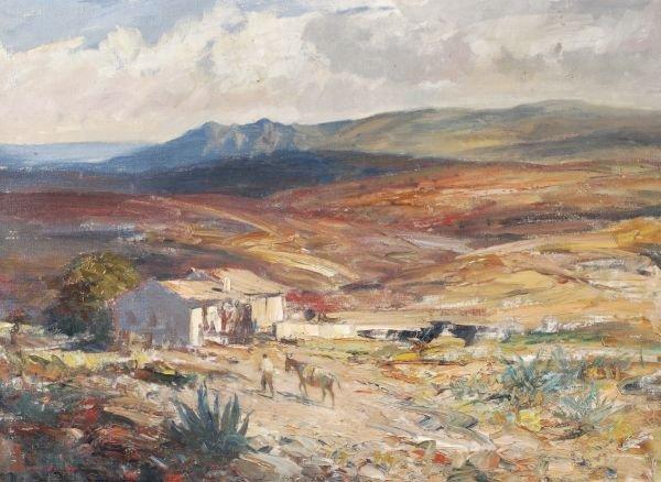 Edward Seago R.W.S., R.B.A. (1910-1974)Landscape i