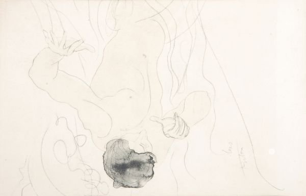 After Auguste RodinNude studiesThree offset lithog