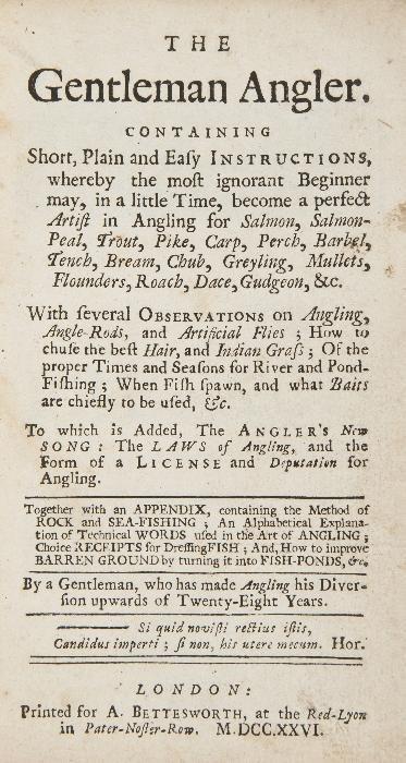 Gentleman Angler (The),   first edition ,  half-ti