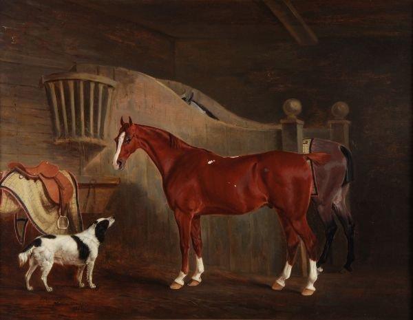 John E. Ferneley (1782-1860) The Hunters of Sir La