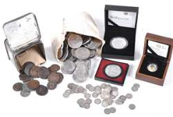 British and World coins 19th and 20th century bas