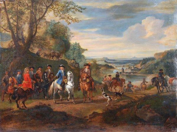 Follower of Adam Frans van der Meulen The Duke of