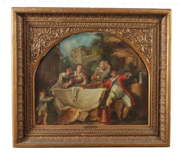 North Italian School (18th Century) The Dance; The