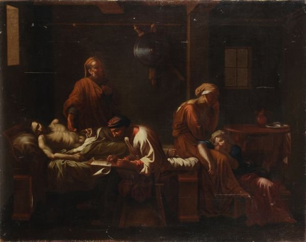 After Nicolas Poussin The Testament of Eudamidas O