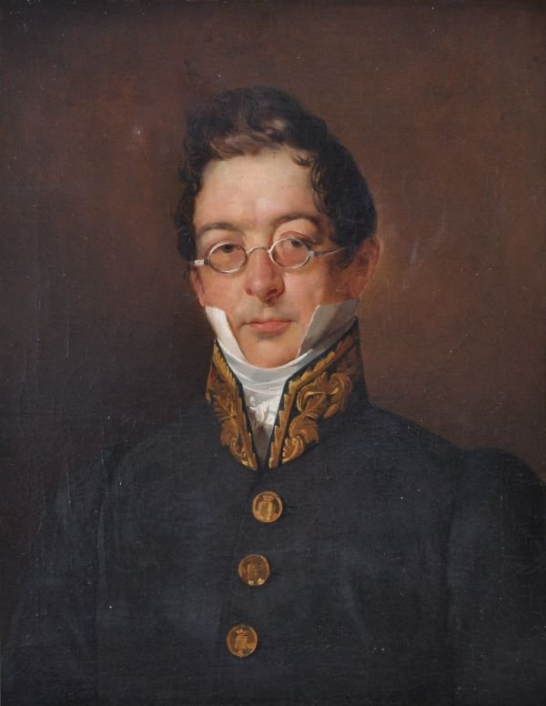 Continental School (early 19th century) Portrait o