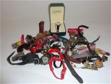 A collection of twenty one gentleman's wrist watch