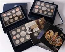 Elizabeth II Royal Mint proof year sets 12 1984
