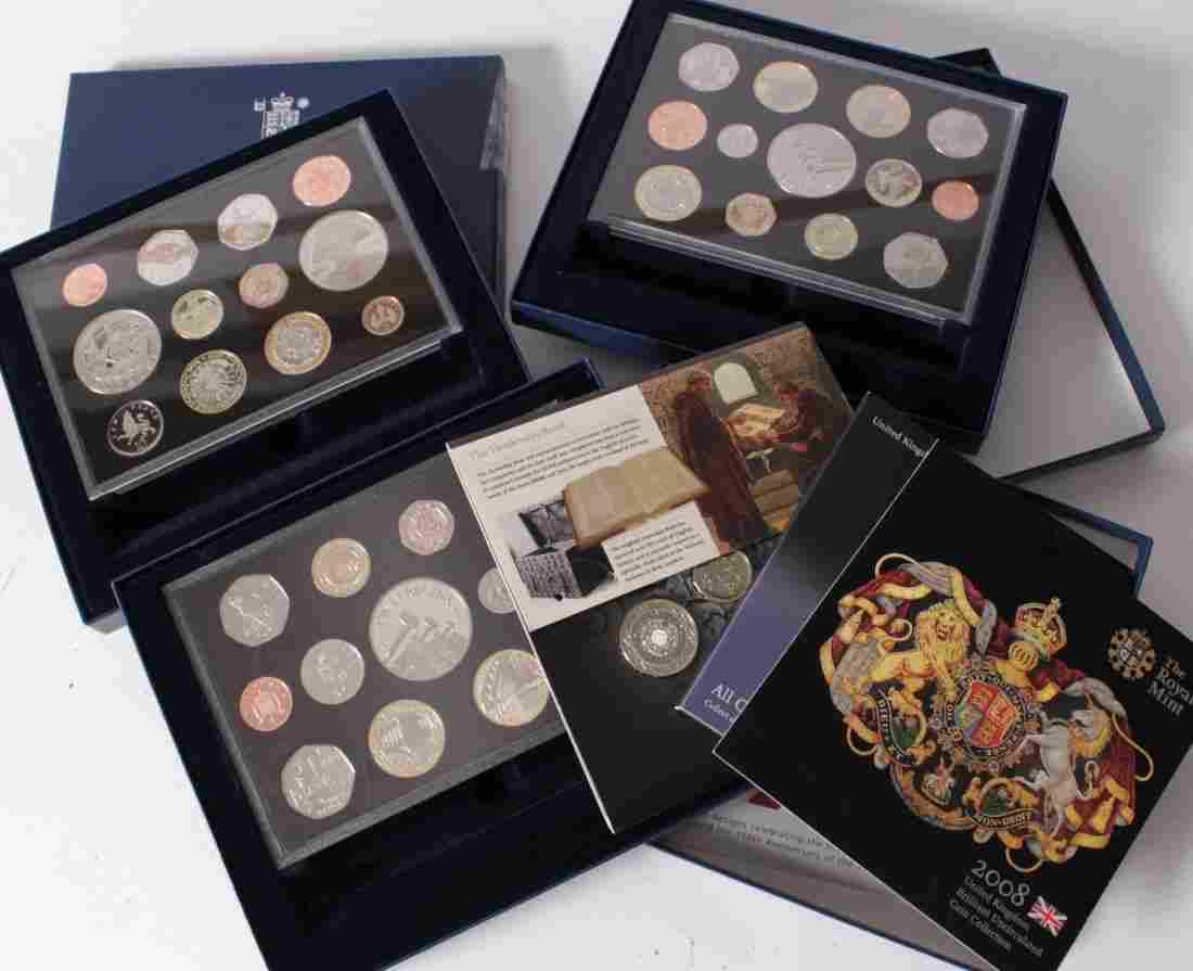 Elizabeth II, Royal Mint proof year sets (12) 1984