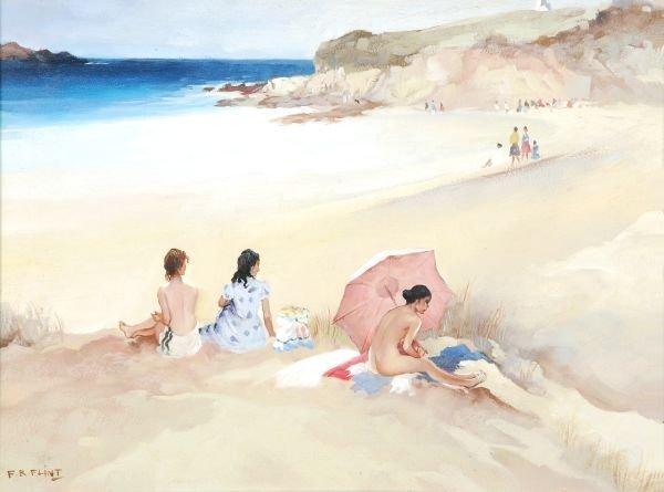 Francis Murray Russell Flint (1915-1977) Girls on