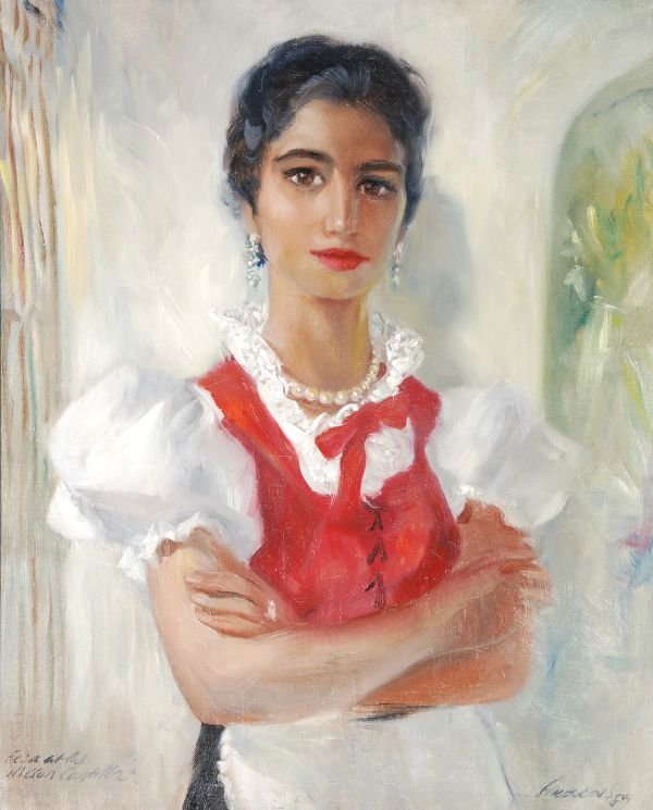 Frederic John LLoyd Strevens (1902-1990) Elia at t