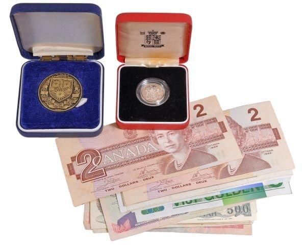 Elizabeth II, proof silver piedfort One- Pound 199